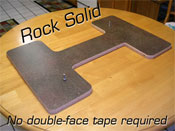 Game stabilizer with levelers - Rock solid. No double-face tape required.